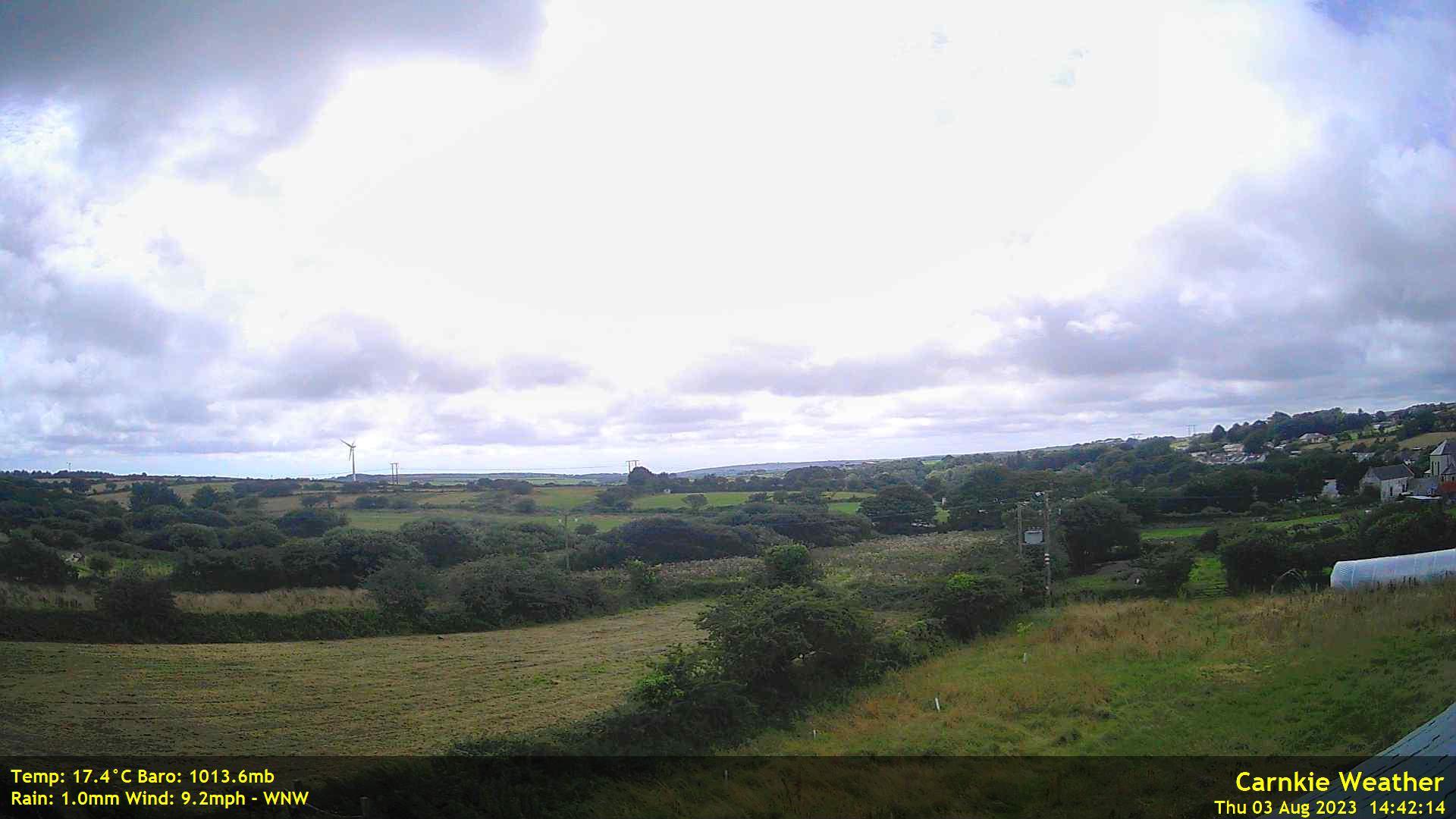 Carnkie (Redruth), Cornwall, England - Webcam Image